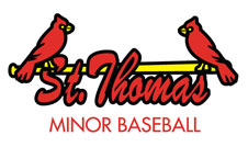 Logo for St. Thomas Minor Baseball